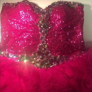 Prom dress must have💗💗 corset dress